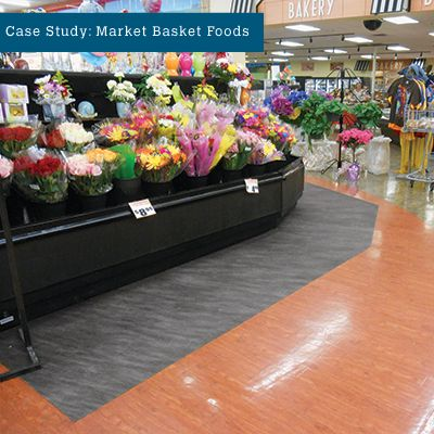Market Basket Foods Ended Trips & Slips and Saved over $100,000 using PIG Grippy Floor Mat