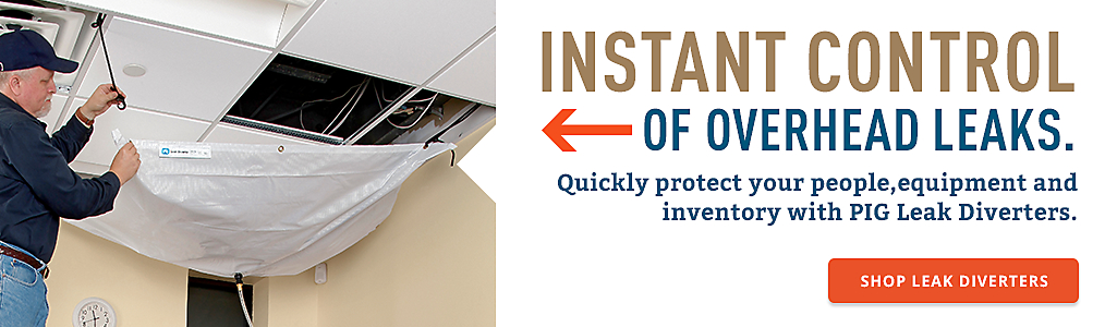 INSTANT CONTROL OF OVERHEAD LEAKS