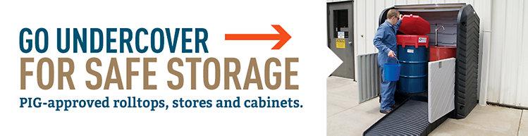 Drum & IBC Storage Units