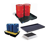Spill Trays, Basins & Carts