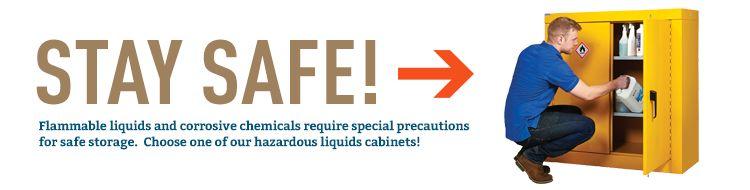 Hazardous Liquid Cabinets