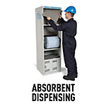 Absorbent Dispensing