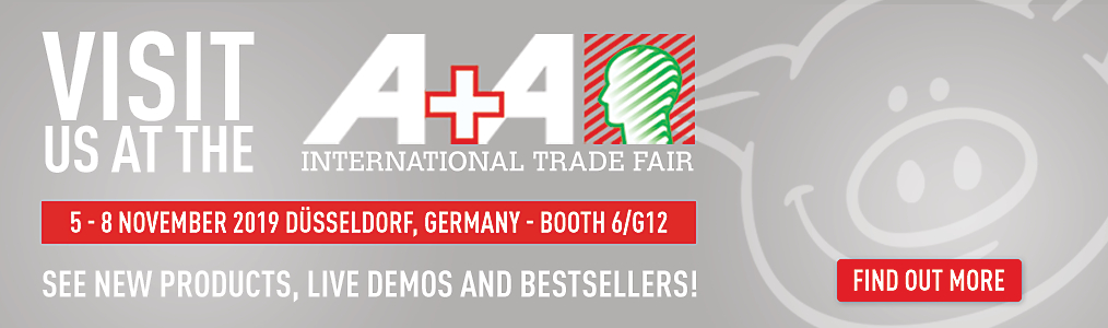 Visit us at A+A Dusseldorf - Booth 6/G12