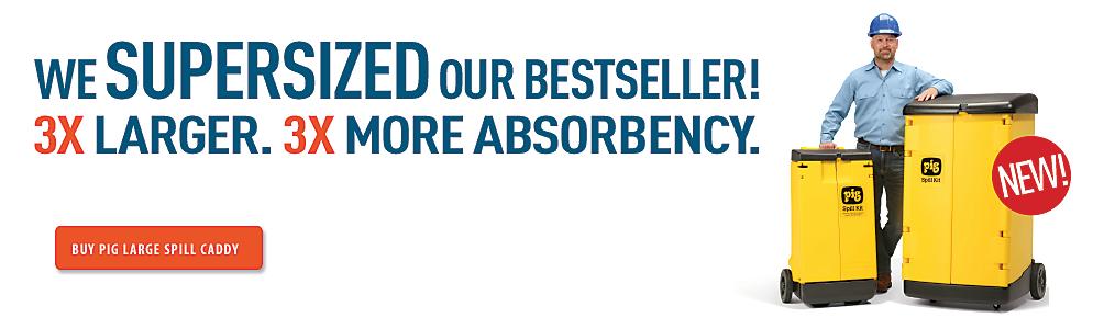 We supersized our bestseller!