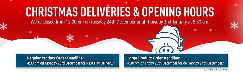 Christmas Deliveries & Opening Hours Info