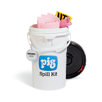 PIG® HAZ-MAT Spill Response Bucket Kit