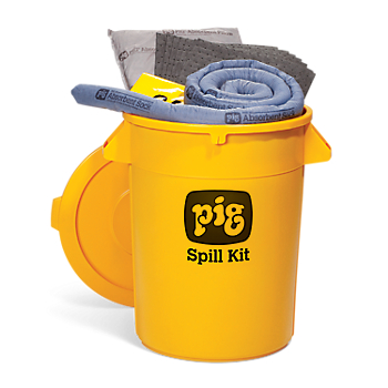 PIG Spill Kit in High-Visibility Container
