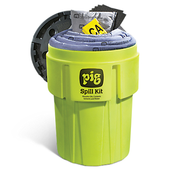 PIG® Spill Kit in High-Visibility 360-litre Container