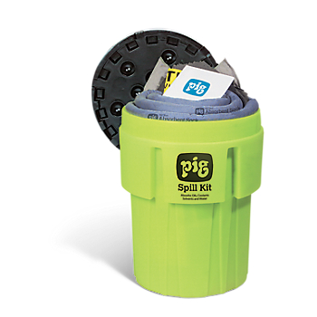PIG® Spill Kit in High-Visibility 246 litre Container