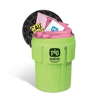 PIG® Spill Kit in 246-litre High Visibility Container