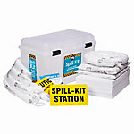 PIG® Oil-Only Spill Kit in See-Thru Wall-Mount Chest