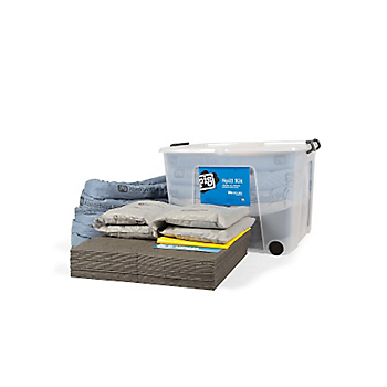 PIG® Clear Spill Kit in 75Ltr Mobile Box