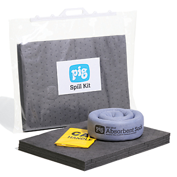 PIG® Spill Kit in a Clip-Close Bag