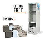 PIG® Spill Station Cabinet Universal Refill Twin-Pack w/ FREE PIG® Spill Station Cabinet