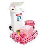 PIG® Alarmed Spill Kit in a Mobile Container