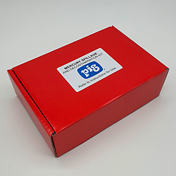 Mercury Spill Cleanup & Decontamination Kit