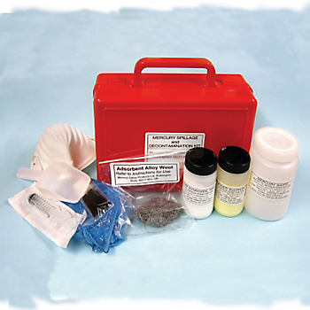 Refill for Mercury Spill Cleanup & Decontamination Kit