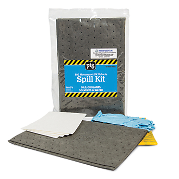 PIG® Motorsport UK Vehicle Small Spill Kit