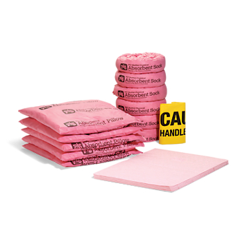 Refill for PIG® HAZ-MAT Spill Kit in a 76-Litre Overpack