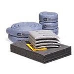 PIG® Clear Cube Bag Spill Kit Refill