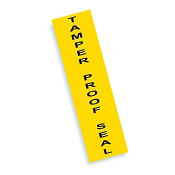 Tamper Proof Seal Labels