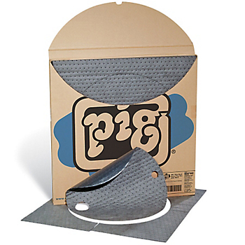 PIG® Universal Poly-Back Barrel Top Mat with Skirt