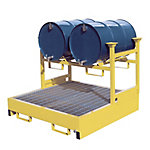 Steel Horizontal Drum Rack