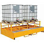 Steel IBC Pallet With Dispensing Stand