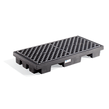 PIG® 2-Drum Poly Deck with Pallet Truck Pockets