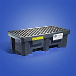 PIG® Economy 2-Drum Poly Spill Containment Pallet