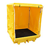 4-Drum Covered Containment Pallet