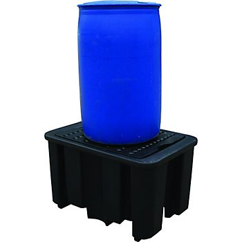 PIG® Essentials 1-Drum Poly Containment Pallet