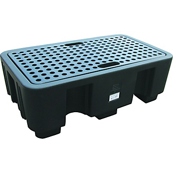 PIG® Essentials 2-Drum Poly Containment Pallet