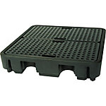 PIG® Essentials 4-Drum Poly Containment Pallet