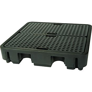 PIG® Essentials 4-Drum Poly Containment Pallet