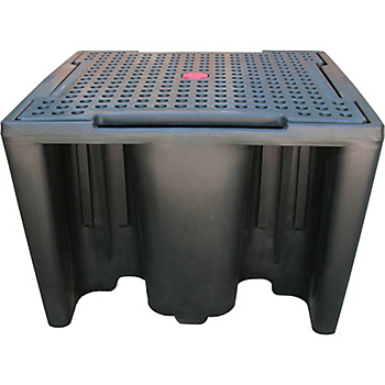 Single IBC Poly Containment Pallet