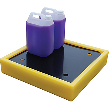 Poly Spill Tray with Grate