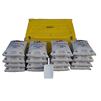 Grit Bin & Salt Kit