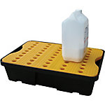 Spill Tray with Grate