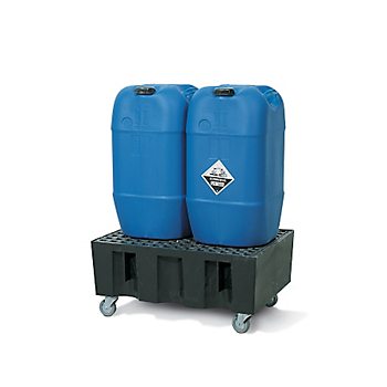 Mobile Poly Sump Trolley with Poly Grate
