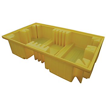 PIG® Essentials Twin IBC Poly Pallet Pallet without Deck