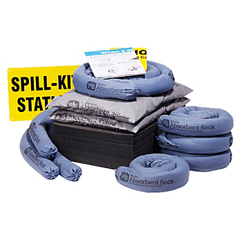 Refill for PIG® Spill Kit in See-Thru Wall-Mount Chest