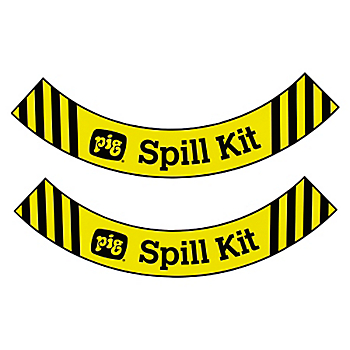 Floor Label for PIG® Spill Kit