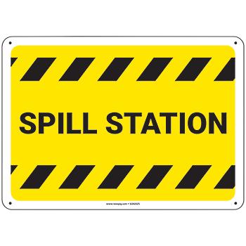 PIG® Spill Station Sign