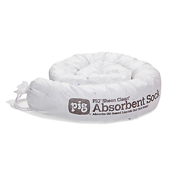PIG® Sheen Clean® Oil-Only Absorbent Sock