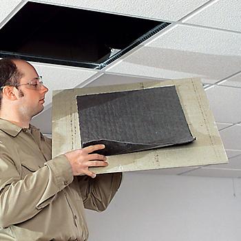 PIG® Ceiling Panel Leak Catcher