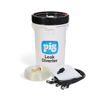 PIG® Roof Leak Diverter Bucket Kit