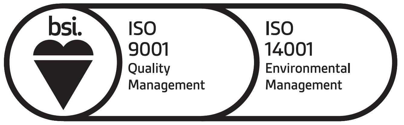 ISO Accreditations 9001 & 14001
